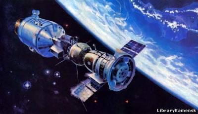 Полёты в космос. История, люди, техника